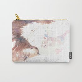 The bear, the cat and the tree of truth Carry-All Pouch