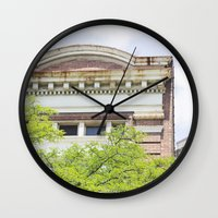 history Wall Clocks featuring History by Rachael Anthoney