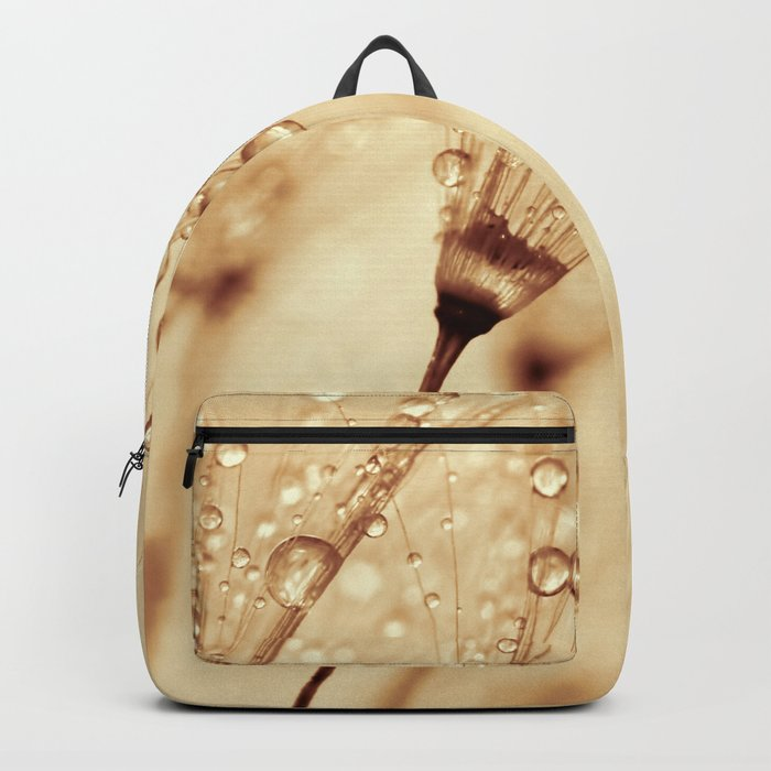 droplets of liquid gold Backpack