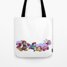 Kirby Friends Tote Bag