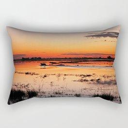 Evening in Africa Rectangular Pillow