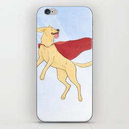Heroic Canine iPhone Skin