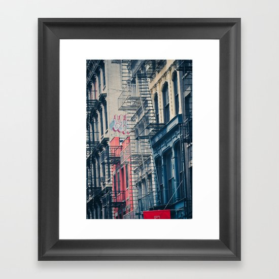 Density - New York City Architecture Framed Art Print