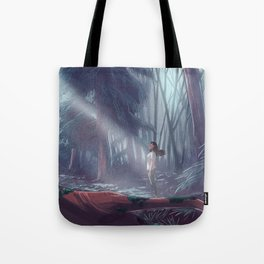 How to be a Werewolf: Malaya in the Forest Tote Bag