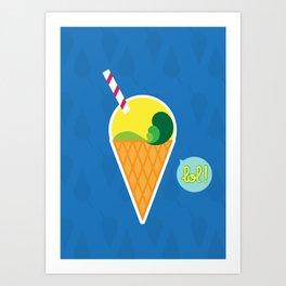 Ice Cream - CosmoLOL!icious Art Print