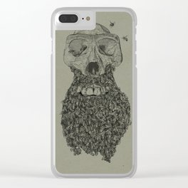 Dead Hipster Clear iPhone Case