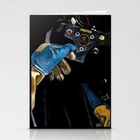 senna Stationery Cards featuring Ayrton Senna 1985 Lotus  by Borja Sanz