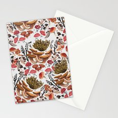 Autumnal Fungi Stationery Cards