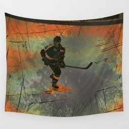 The Game Changer - Ice Hockey Tournament Wall Tapestry