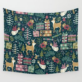 Christmas Joy Wall Tapestry