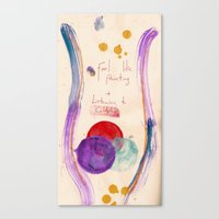 coldplay Canvas Prints featuring Painting & Coldplay by Hector Pahaut
