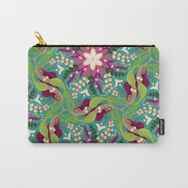 Mermaid Swirl Pattern Carry-All Pouch