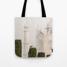 Bird at the Taj Tote Bag