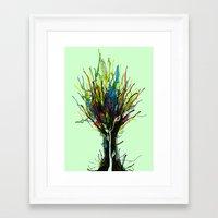creativity Framed Art Prints featuring Creativity by Tobe Fonseca