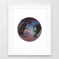 constellation Framed Art Prints featuring Constellation by Jamie Mitchell