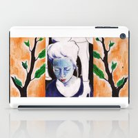 sister iPad Cases featuring sister by emily tea