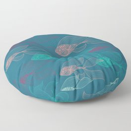 beta fish Floor Pillow