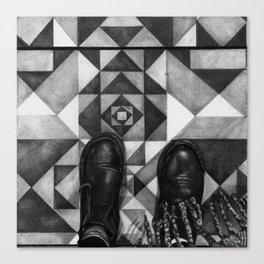 Art Beneath Our Feet - Berlin Canvas Print