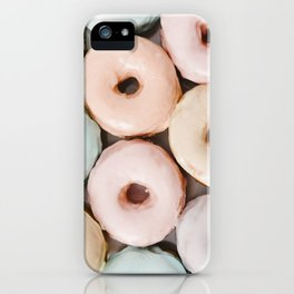 Pastel Donuts iPhone Case