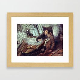 Supernatural Protecting something so Holy Framed Art Print