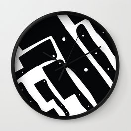 Cleaver Wall Clock