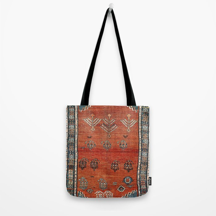 Bakhshaish Azerbaijan Northwest Persian Carpet Print Tote Bag