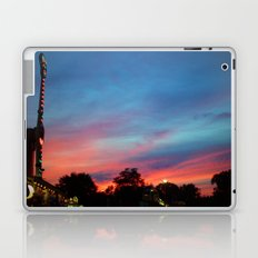 Fire over the Midway Laptop & iPad Skin