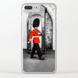 The Queens Red Guard Clear iPhone Case