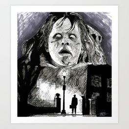 The Exorcist Art Print