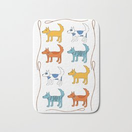 For the love of dogs Bath Mat