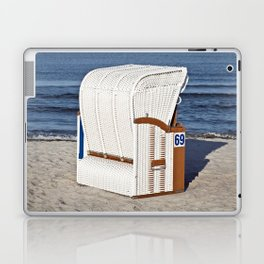 BEACH CHAIR No.69 - Baltic Sea - Isle Ruegen Laptop & iPad Skin
