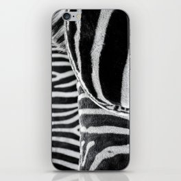 zebra 2 iPhone Skin