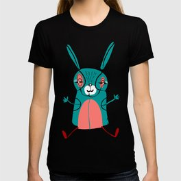 Bunny illustration, great nursery decor, art for kids, animal decor,look for other animals in our shop T-shirt