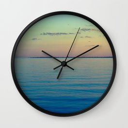 Enough To Let You Go Wall Clock