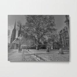 Plac Katedralny Metal Print