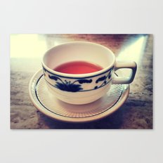 Teacup Canvas Print