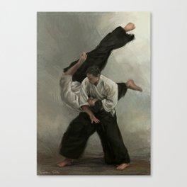 Irimi Nage Canvas Print