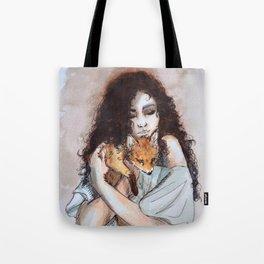 My fox, my love Tote Bag