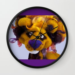 Lionel the Lion Wall Clock