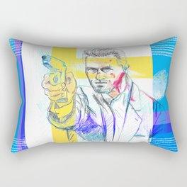Tom Cruise - Collateral Rectangular Pillow