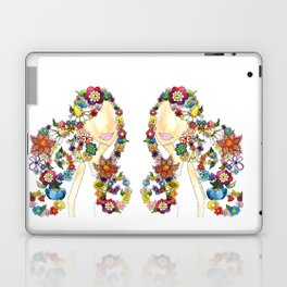 Flower Girl One Laptop & iPad Skin