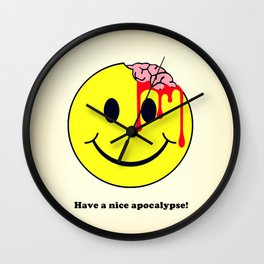 Have a nice apocalypse! Wall Clock