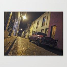 Havana Streets Canvas Print