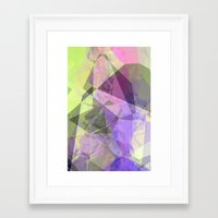 polygon Framed Art Prints featuring Polygon by Fine2art