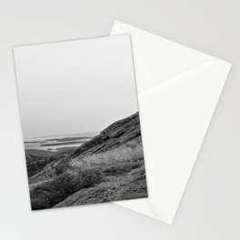 Standing on a Mountain Stationery Cards