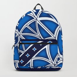 """""""Blue Grate"""" Industria Collection Backpack"""