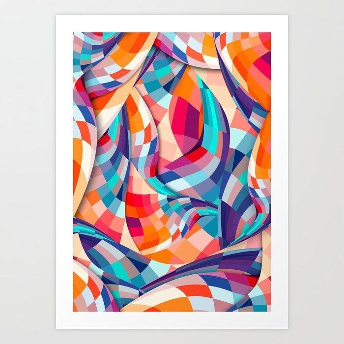 Versicolor Art Print