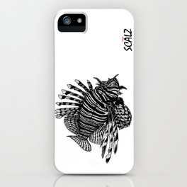 Red Lionfish - Beauty Is The Beast iPhone Case