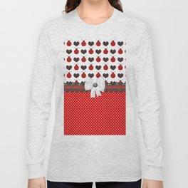 Ladybug and Hearts Long Sleeve T-shirt