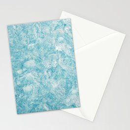 Crystal Water Marble Stationery Cards